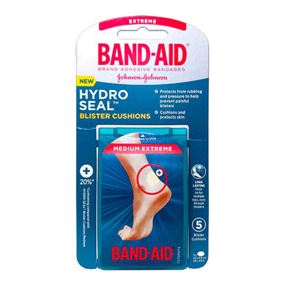 Picture of J and J Hydro Seal Extreme Blister Cushions 5/Ct