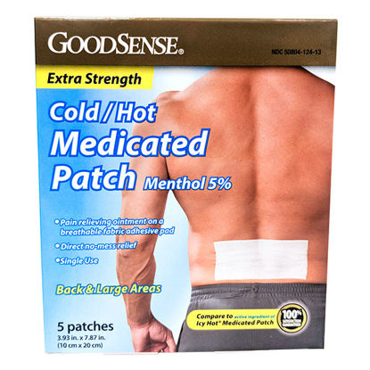 Picture of Extra Strength Cold and Hot Therapy Patch 5/Ct