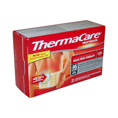 Picture of Thermacare Lower Back and Hip Heatwraps 2/Ct