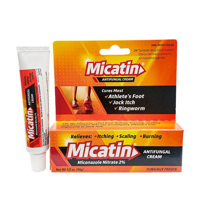 Picture of Micatin Antifungal Cream .5 oz.