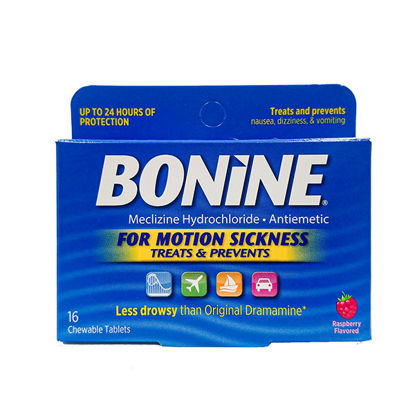 Picture of Bonine Motion Sickness 16/Ct